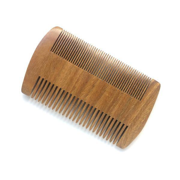 Beard Comb - Natural Sandalwood 2