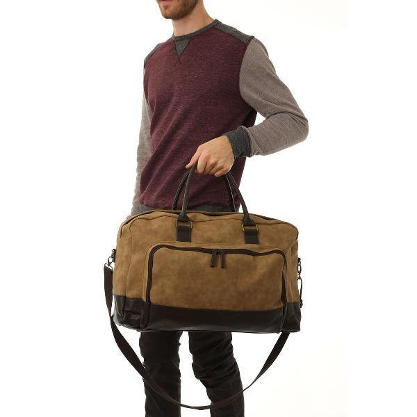 Men's Vegan Leather Duffel Bag - Marcel 3