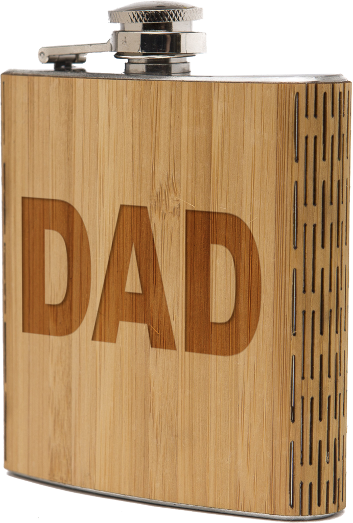 6 oz. Wooden Hip Flask | Father's Day Edition - The Gallant Way
