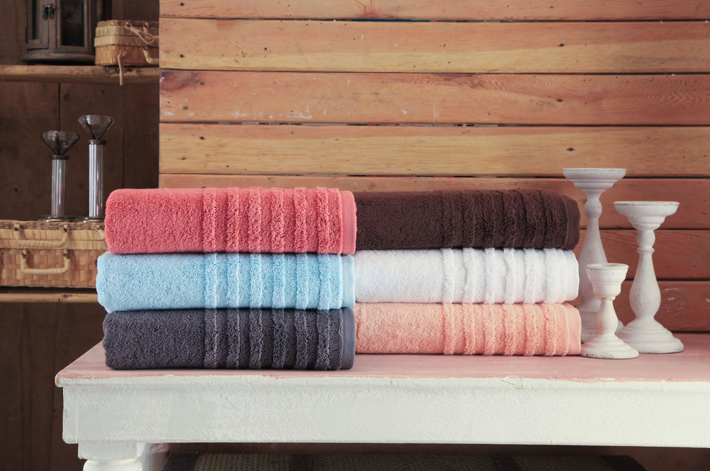 Bath Towels Opulent Collection 6 Pcs Towel Set - The Gallant Way