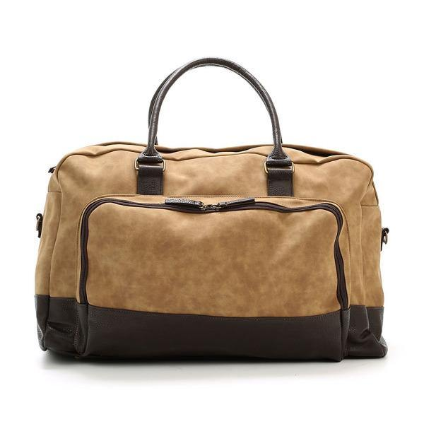 Men's Vegan Leather Duffel Bag - Marcel 1
