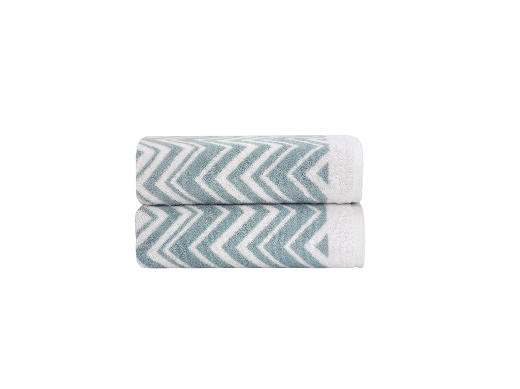 Bath Towels Set - Santorini Collection 2 pcs - The Gallant Way