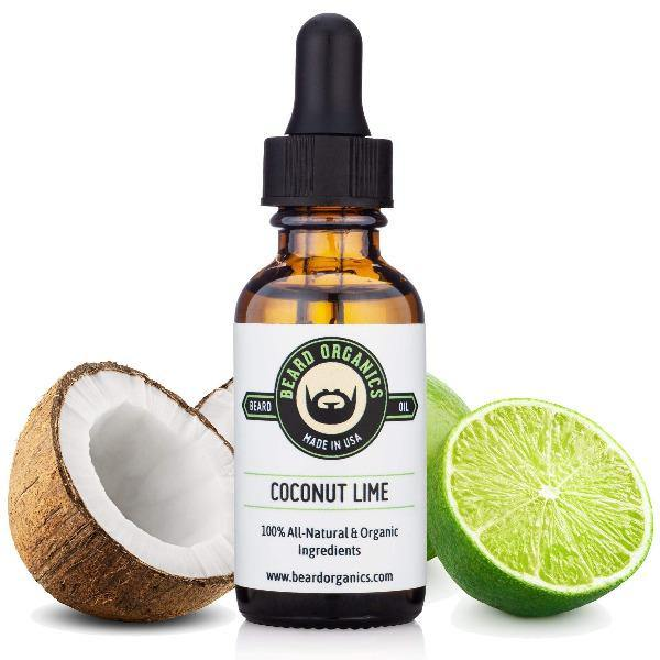 Men's Beard Oil Coconut Lime