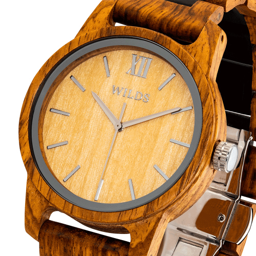 Men's Wood Watch Handmade Ambila 4