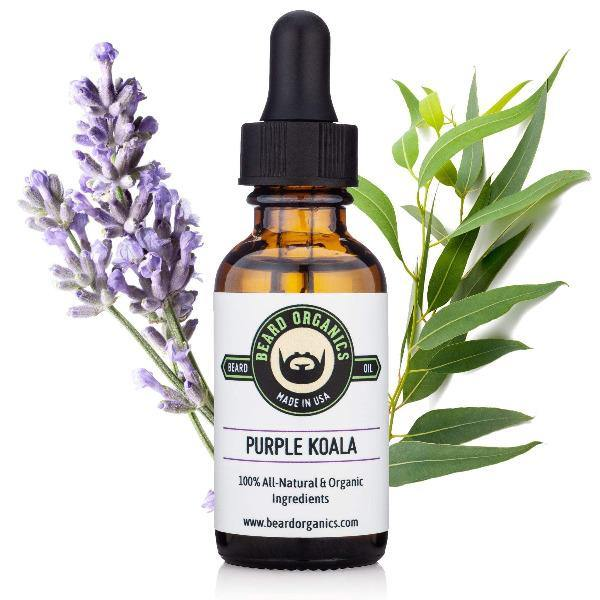 Beard Oil Lavender & Eucalyptus Purple Koala