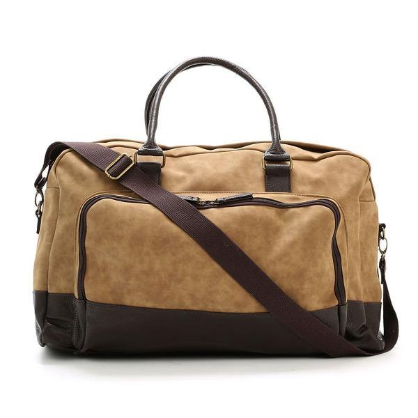 Men's Vegan Leather Duffel Bag - Marcel 6