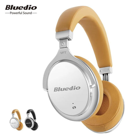 Bluedio F2 Active Noise Cancelling Wireless Bluetooth Headphones Wireless Earphone/Headset Microphone For Phones