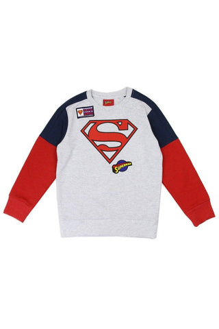 Boys superman 2-4t sweatshirt - dress4less.com