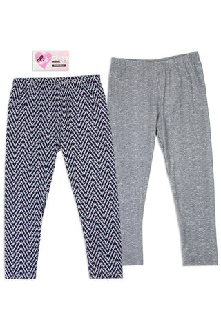 Twin Pack Girls 4-6x leggings - dress4less.com