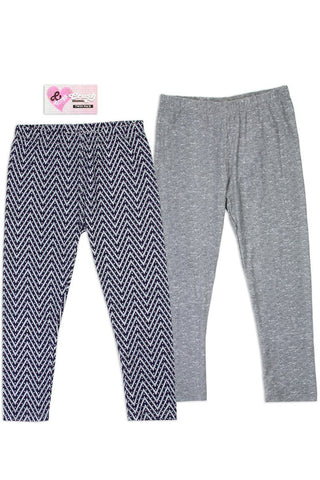 Twin Pack Girls 2-4t leggings - dress4less.com