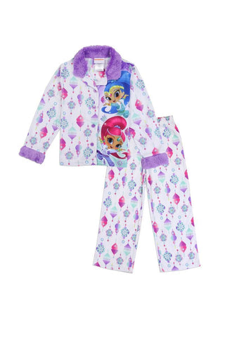 Girls shimmer & shine 4-8 2pc pajama set - dress4less.com