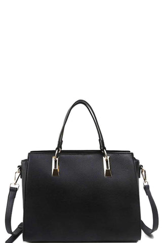 Modern Chic Stylish Satchel With Long Strap - dress4less.com