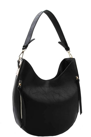 Fashion Chic Trendy Hobo Bag With Long Strap - dress4less.com
