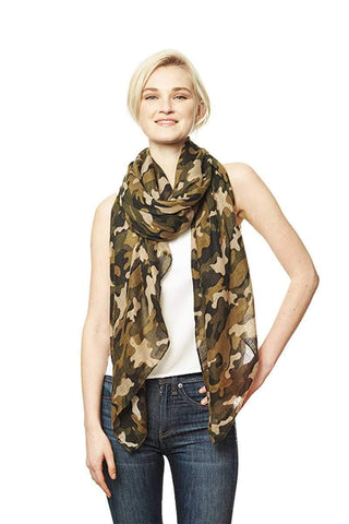 Camouflage Print Scarf - dress4less.com
