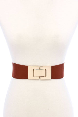 Fashion Stretchable Square Buckle Belt - dress4less.com