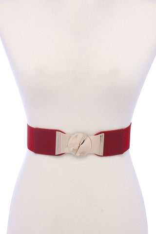 Pu Leather Elastic Belt - dress4less.com