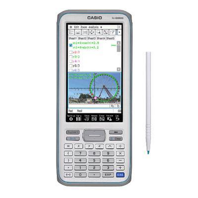 "Graphing Calculator w 4.8"" LCD"