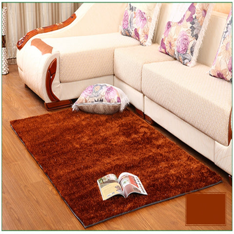 Large Size Carpet For Living Room Bedroom Antiskid Soft Shaggy Carpet Baby Nursery Rug Modern Carpet Rug Mat 5 Colors 1.2x1.7m