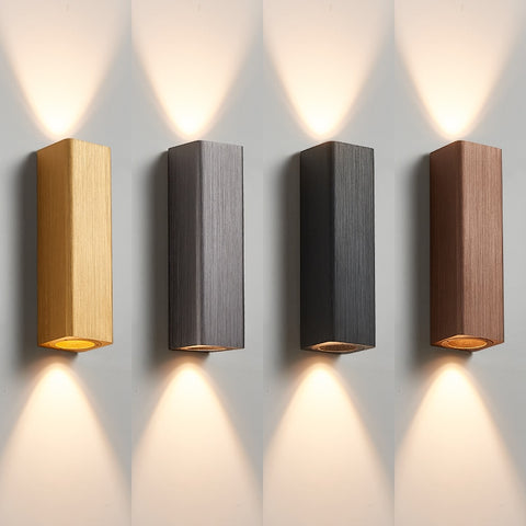 Modern Aluminum Wall Lamp Led Wall Sconce Light Fixtures Living Room Bedroom Lamp Led Mirror Lights Bathroom Lighting Home Decor