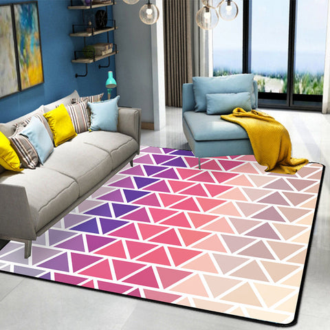 Nordic geometric abstract carpet modern living room bedroom bedside carpet home decoration coffee table carpet 80*160cm