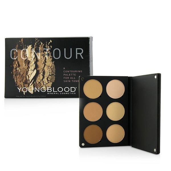 Contour Palette For All Skin Tones (3x Highlight Shades, 3x Contouring Shades) - 15g-0.48oz