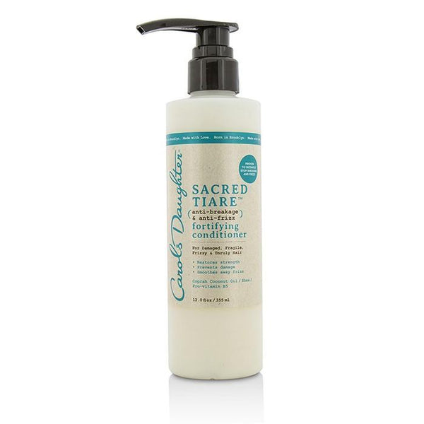 Sacred Tiare Anti-Breakage & Anti-Frizz Fortifying Conditioner (For Damaged, Fragile, Frizzy & Unruly Hair) - 355ml-12oz