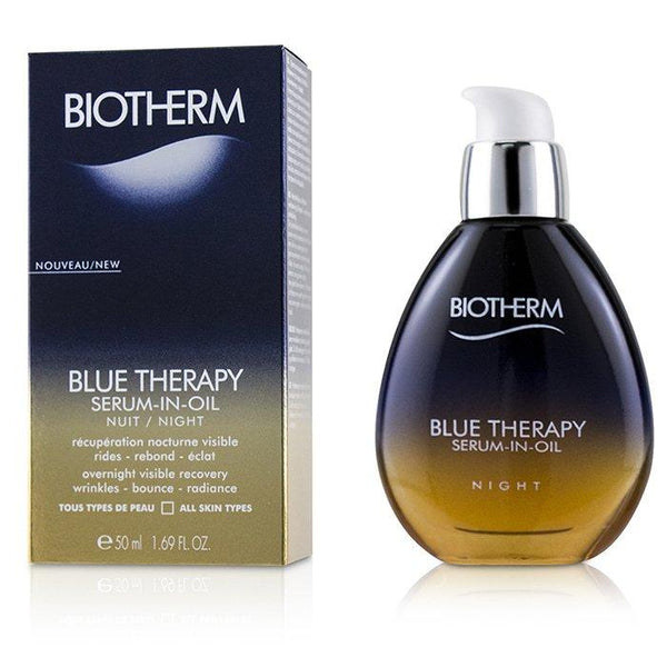 Blue Therapy Serum-In-Oil Night - For All Skin Types - 50ml-1.69oz