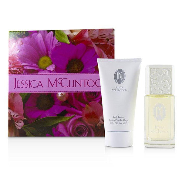 Jessica McClintock Coffret: Eau De Parfum Spray 100ml-3.4oz + Perfumed Body Lotion 148ml-5oz - 2pcs