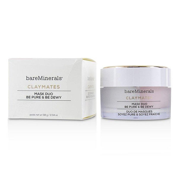 Claymates Be Pure & Be Dewy Mask Duo - 58g-2.04oz