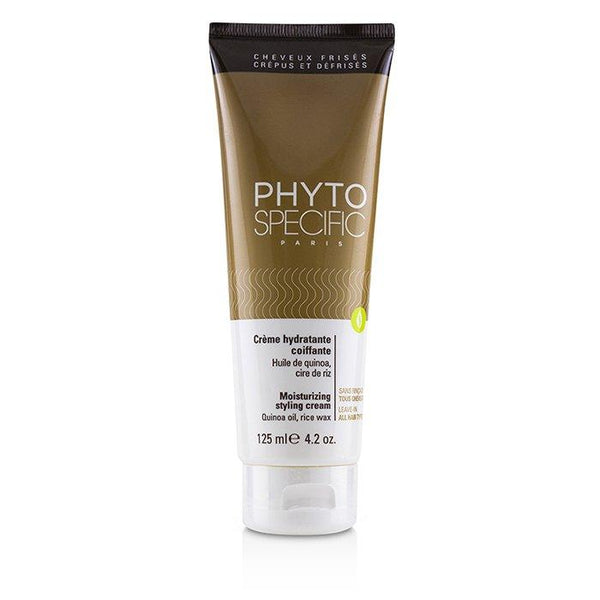 Phyto Specific Moisturizing Styling Cream (All Hair Types) - 125ml-4.2oz