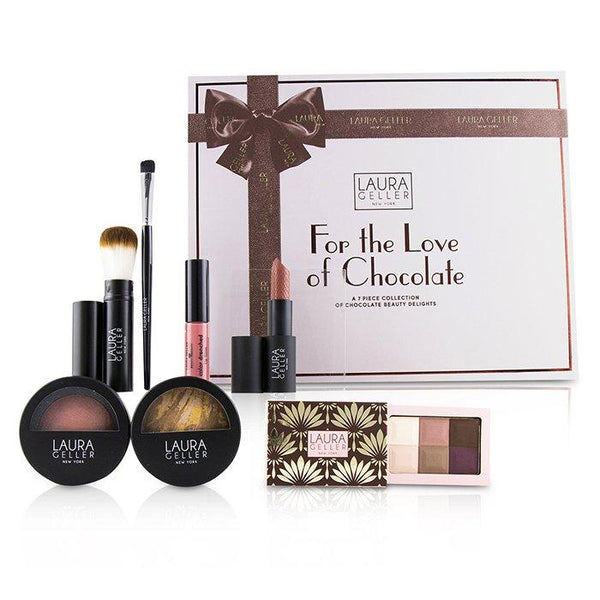 For The Love Of Chocolate A 7 Piece Collection Of Chocolate Beauty Delights - # Tan - 7pcs