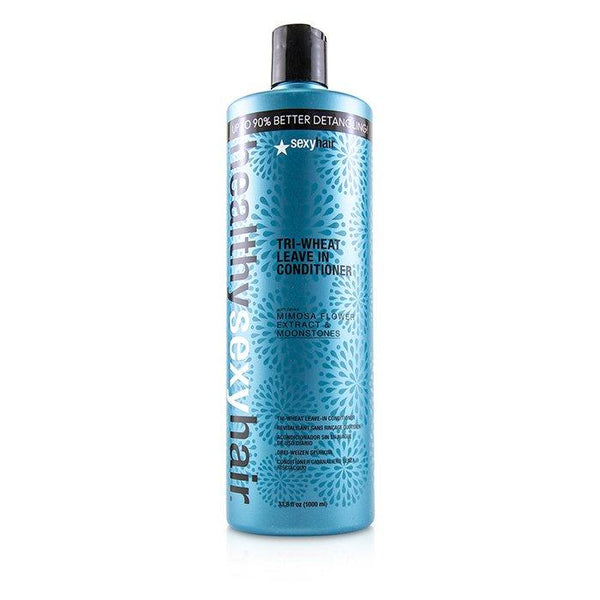 Healthy Sexy Hair Tri-Wheat Leave In Conditioner - 1000ml-33.8oz