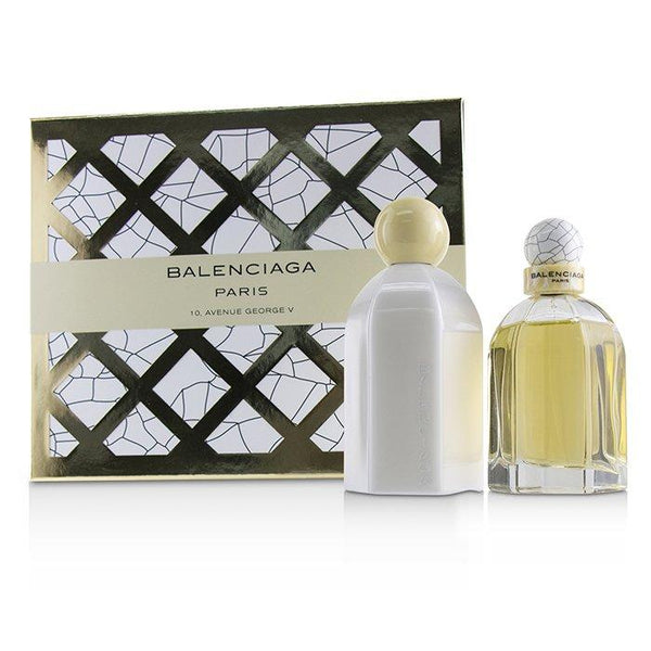 Balenciaga Coffret: Eau De Parfum Spray 75ml-2.5oz + Body Lotion 200ml-6.7oz - 2pcs