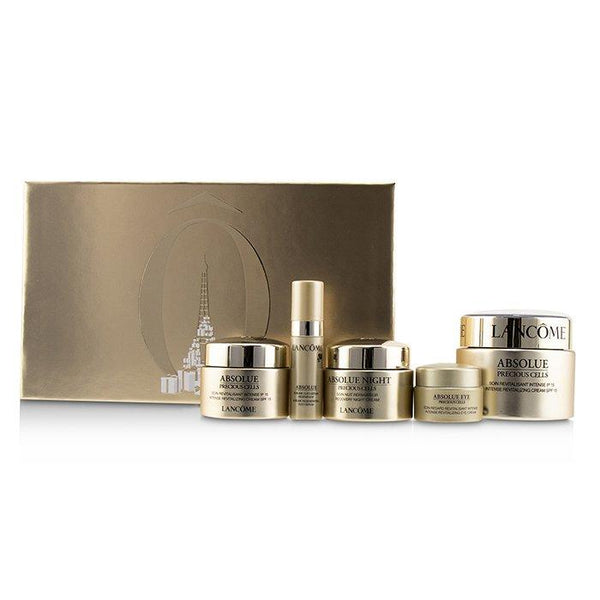 Absolue Precious Cells Set: 2x Intense Revitalizing Cream SPF15 + Recovery Night Cream + Eye Cream + Oleo-Serum - 5pcs
