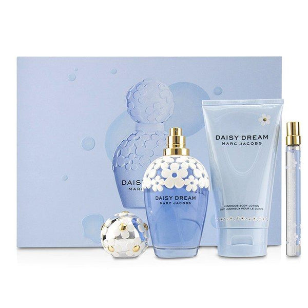 Daisy Dream Coffret: Eau De Toilette Spray 100ml-3.4oz + Luminous Body Lotion 150ml-5oz + Eau De Toilette Spray 10ml-0.33oz - 3pcs