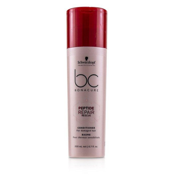 BC Bonacure Peptide Repair Rescue Conditioner (For Damaged Hair) - 200ml-6.7oz