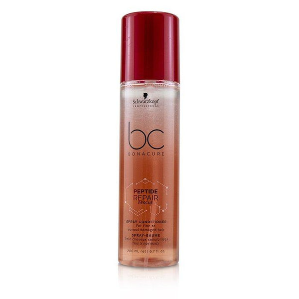 BC Bonacure Peptide Repair Rescue Spray Conditioner (For Fine to Normal Damaged Hair) - 200ml-6.7oz