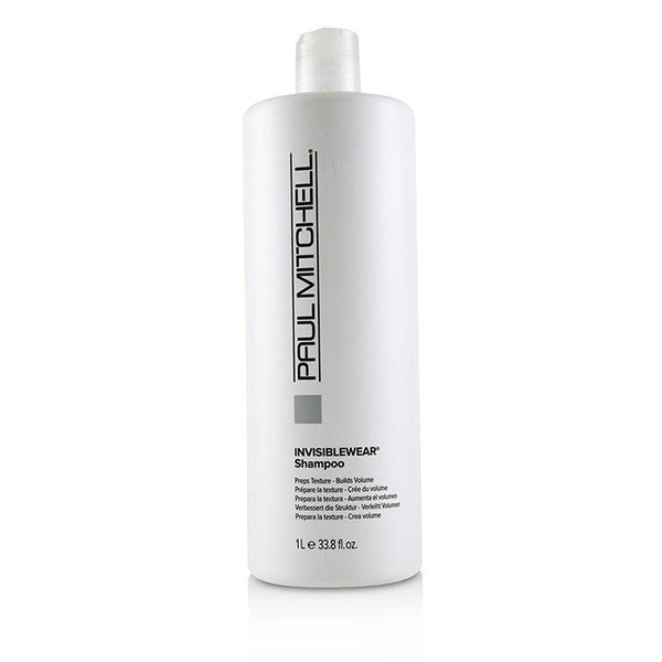 Invisiblewear Shampoo (Preps Texture - Builds Volume) - 1000ml-33.8oz
