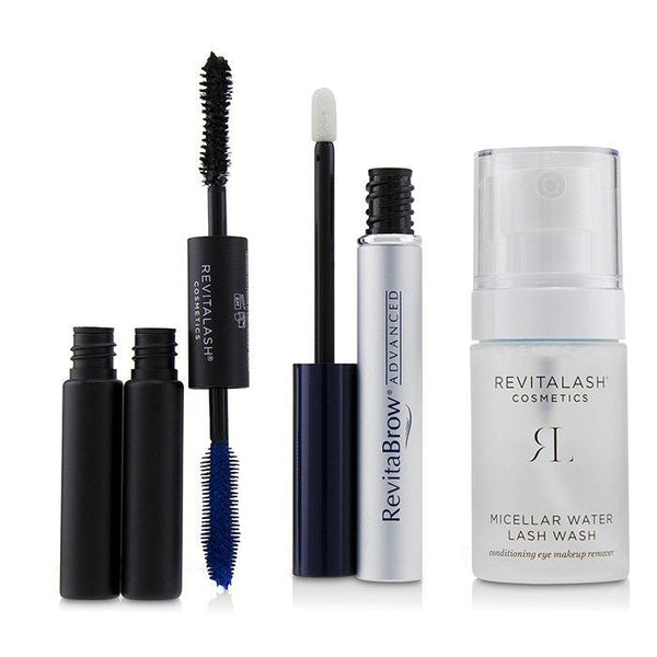 Eye Perfecting Gift Collection : (1x Eyebrow Conditioner, 1x Conditioning Eye Makeup Remover, 1x Volumizing Mascara Black) - 3pcs
