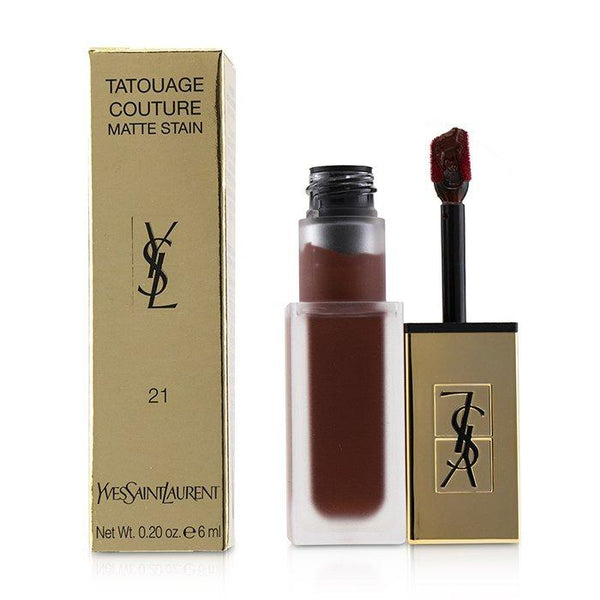 Tatouage Couture Matte Stain - # 21 Burgundy Instinct - 6ml-0.2oz
