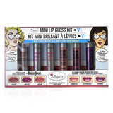 Mini Lip Gloss Kit - # V1 - 6pcs
