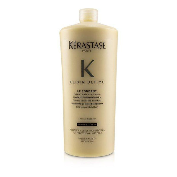 Elixir Ultime Le Fondant Beautifying Oil Infused Conditioner (Fine to Normal Dull Hair) - 1000ml-34oz