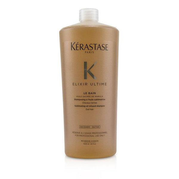Elixir Ultime Le Bain Sublimating Oil Infused Shampoo (Dull Hair) - 1000ml-34oz