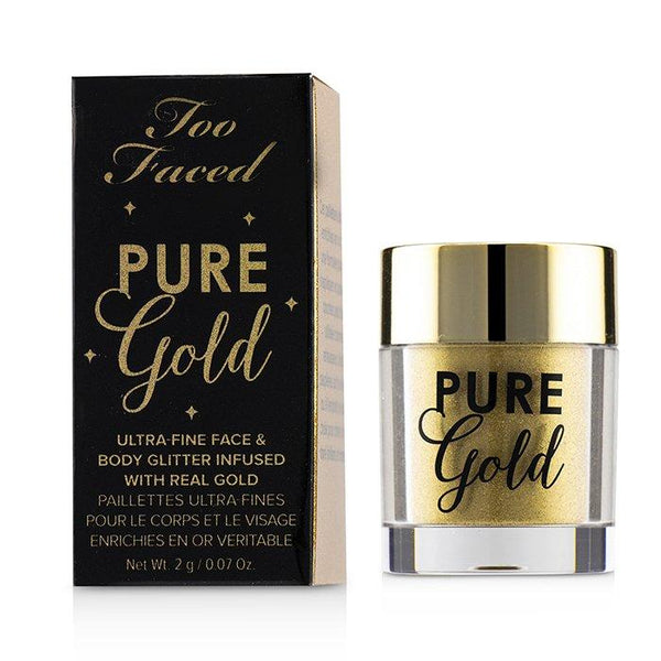 Pure Gold Ultra Fine Face & Body Glitter Infused With Real Gold - 2g-0.07oz