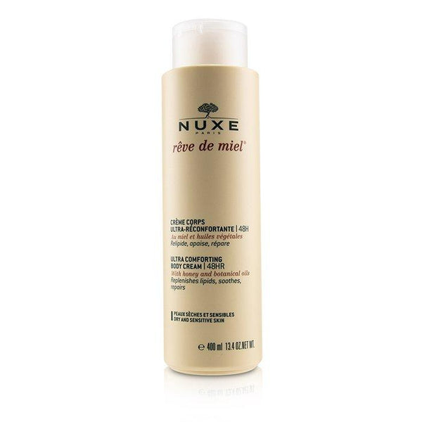 Reve De Miel Ultra Comforting Body Cream 48HR (Dry & Sensitive Skin) - 400ml-13.4oz