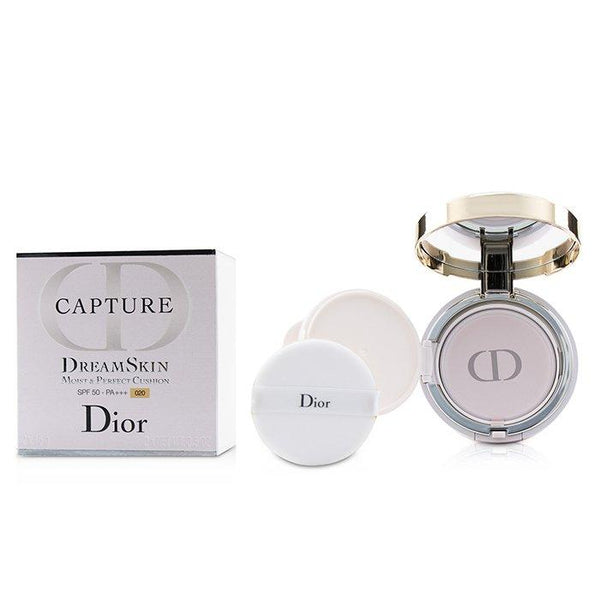 Capture Dreamskin Moist & Perfect Cushion SPF 50 With Extra Refill - # 020 (Light Beige) - 2x15g-0.5oz