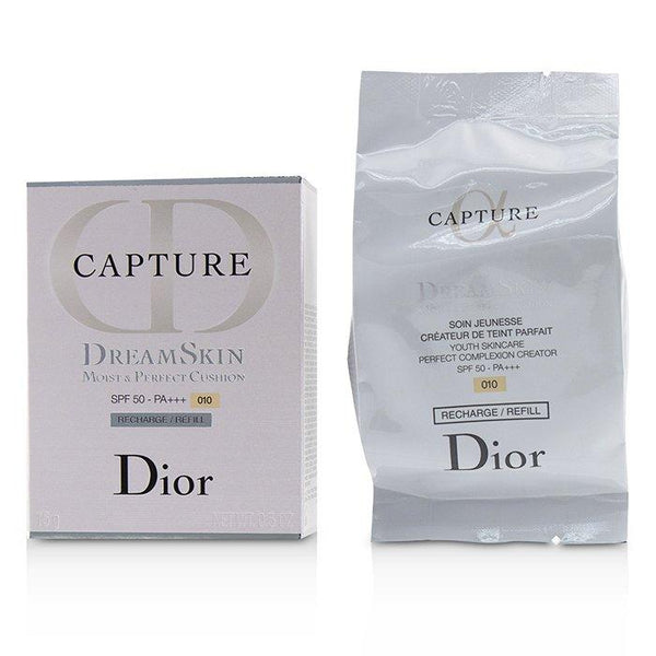 Capture Dreamskin Moist & Perfect Cushion SPF 50 Refill - # 010 (Ivory) - 15g-0.5oz