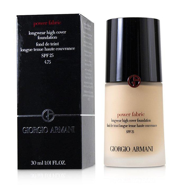 Power Fabric Longwear High Cover Foundation SPF 25 - # 4.75 - 30ml-1.01oz