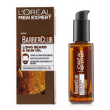 Men Expert Barber Club Long Beard & Skin Oil - 30ml-1oz