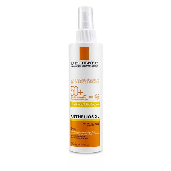 Anthelios XL Ultra-Light Spray SPF 50+ - For Sensitive Skin (Water Resistant) - 200ml-6.7oz